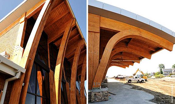 Glued Laminated Wood Goodlam Goodfellow Inc
