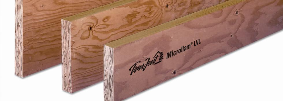 Trus Joist Microllam Lvl Goodfellow Inc